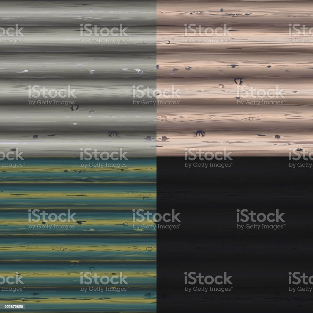 Wood Texture Wooden Background from Plank vector art illustration