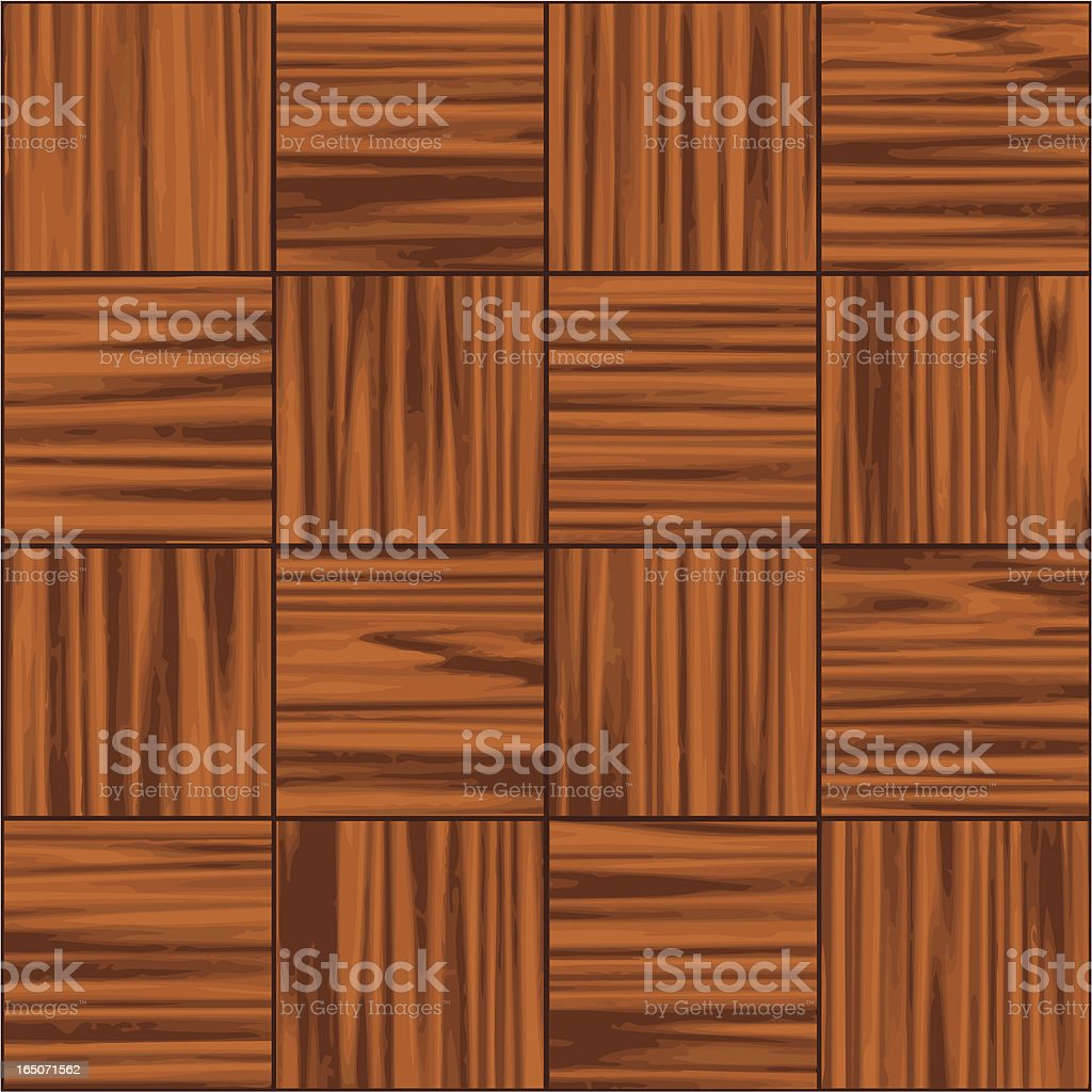 Wood tile . royalty-free stock vector art