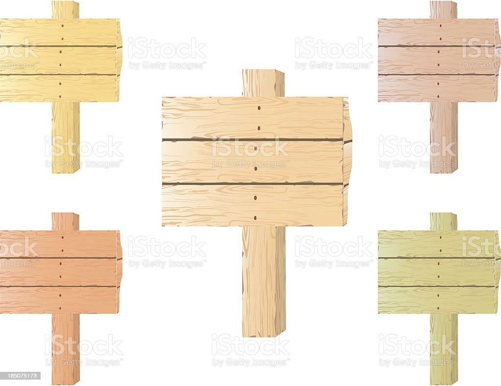 wood royalty-free stock vector art