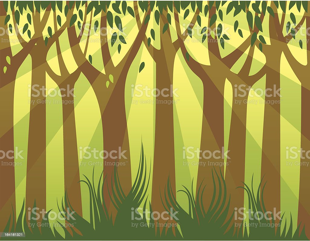 wood-background royalty-free stock vector art