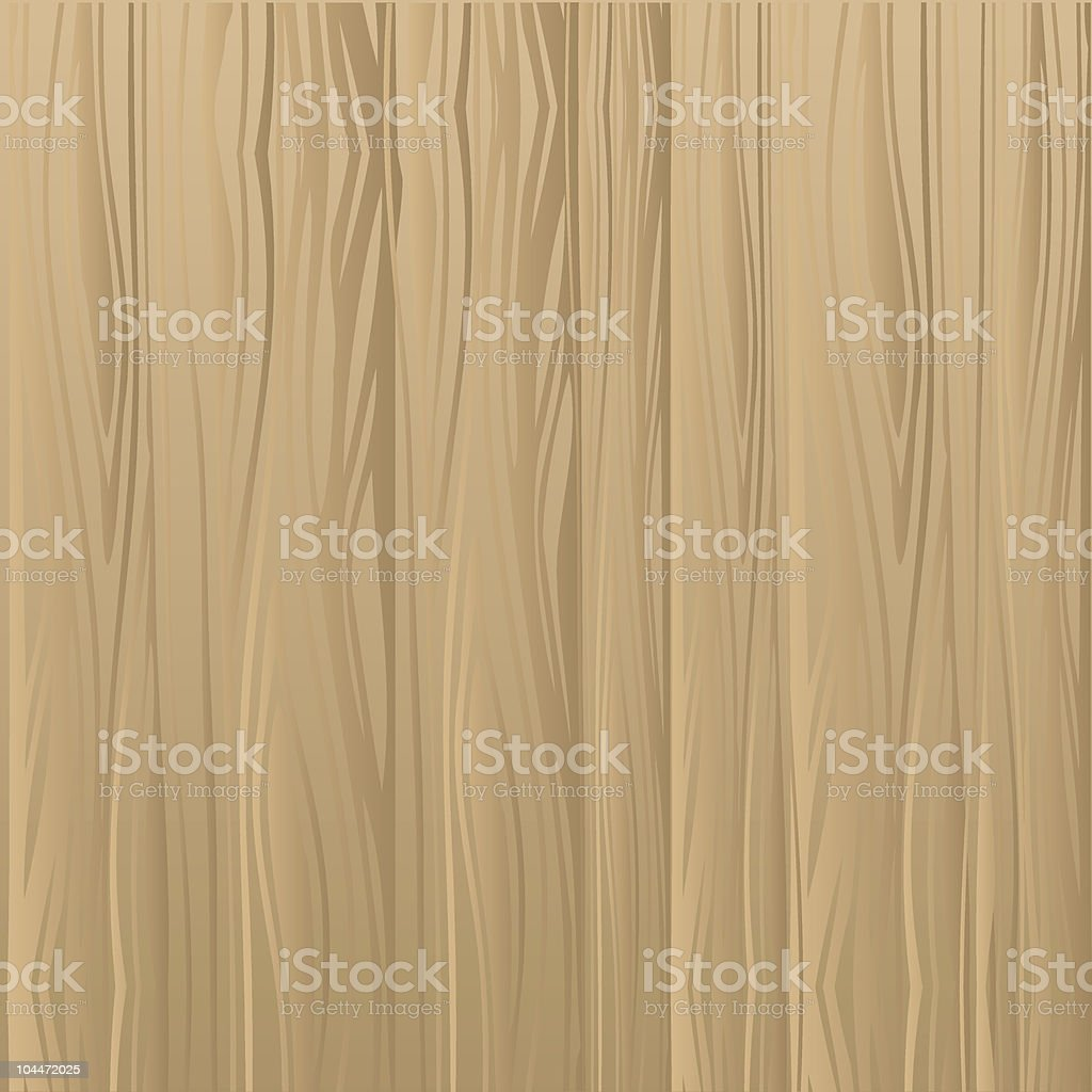 Wooden background close-up vector art illustration