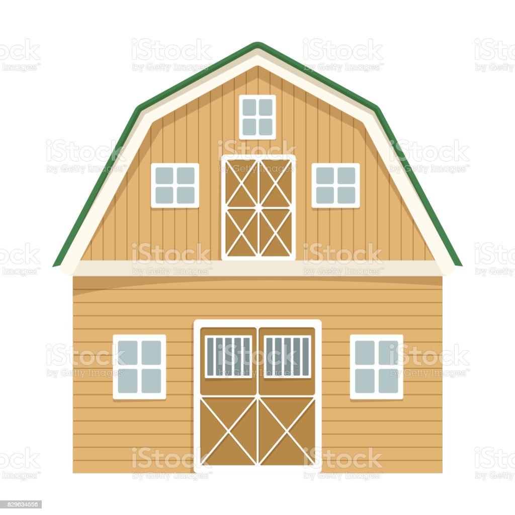 Red Barn Doors Clip Art