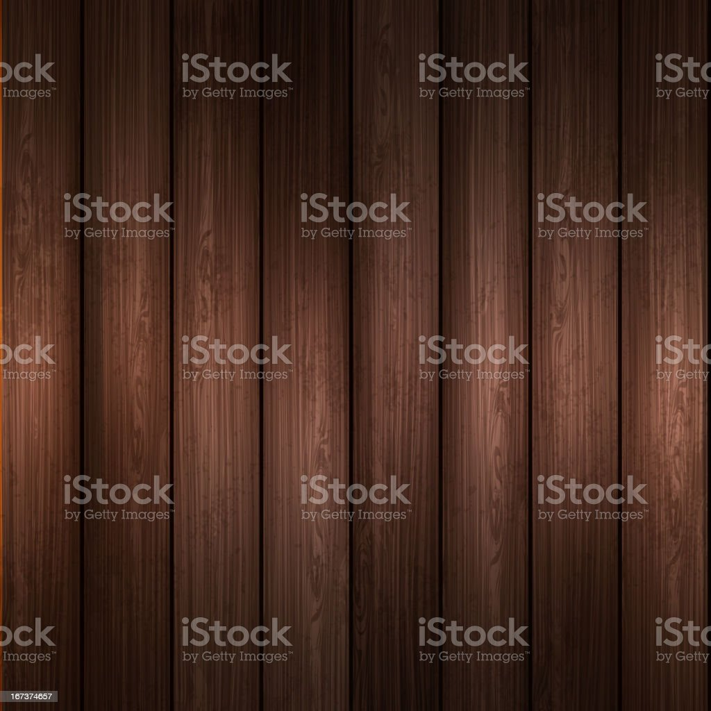 Wooden plank background with a shadow royalty-free stock vector art