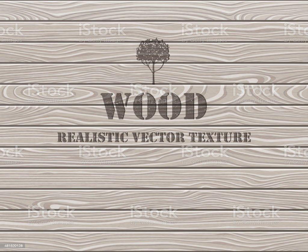 Wooden plank texture background vector art illustration