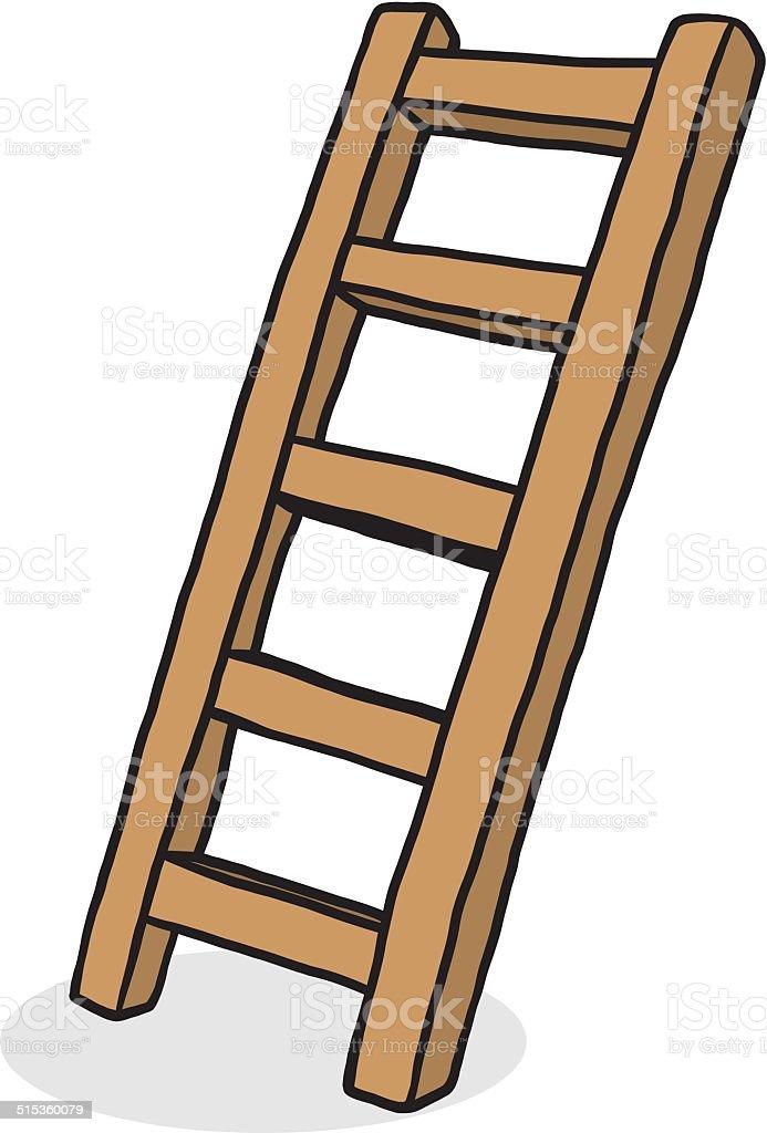 Escalera de madera illustracion libre de derechos - Fotos en escaleras ...