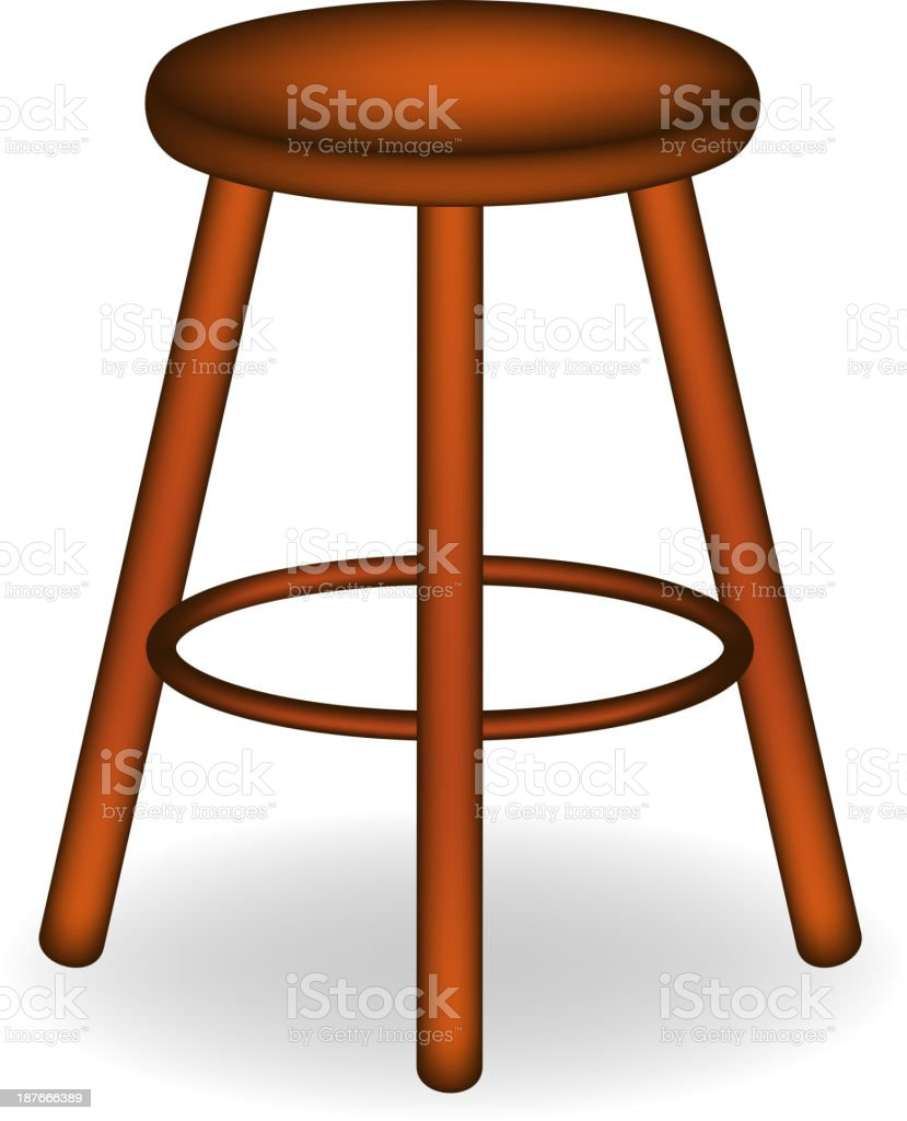 Stool Clip Art Vector Images Amp Illustrations Istock