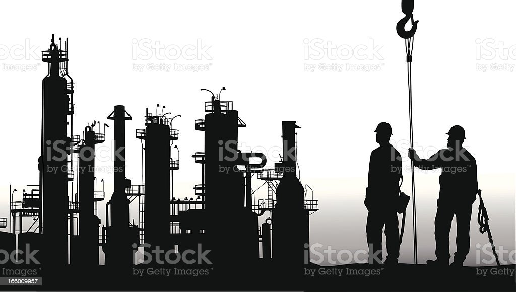 Work For All royalty-free stock vector art