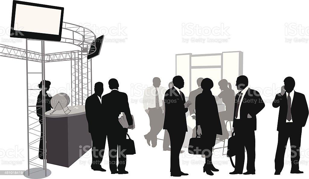 Work People vector art illustration