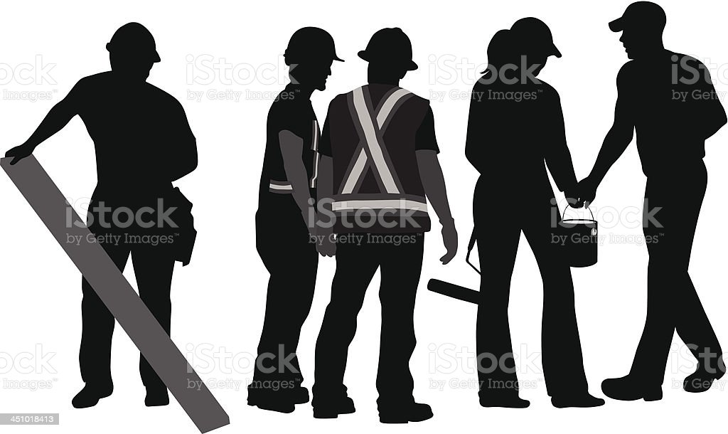 Work Time royalty-free stock vector art