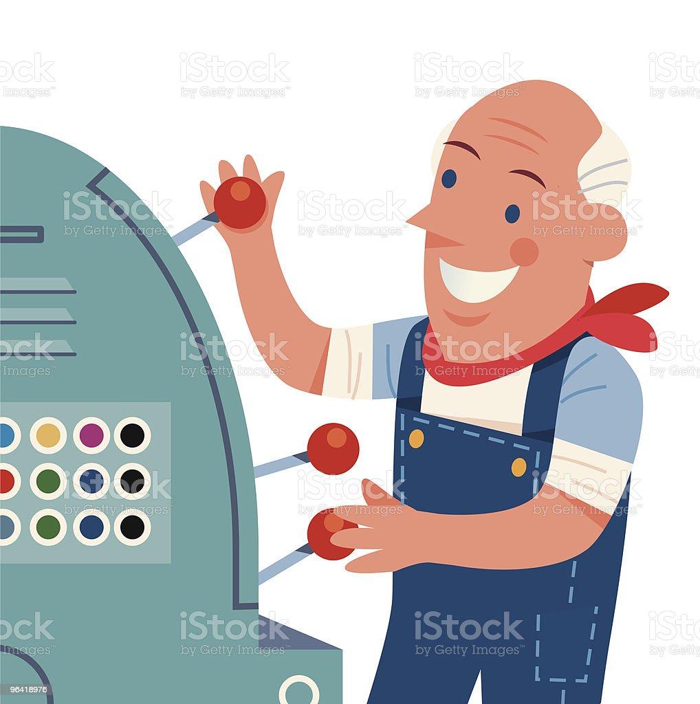 Worker royalty-free stock vector art