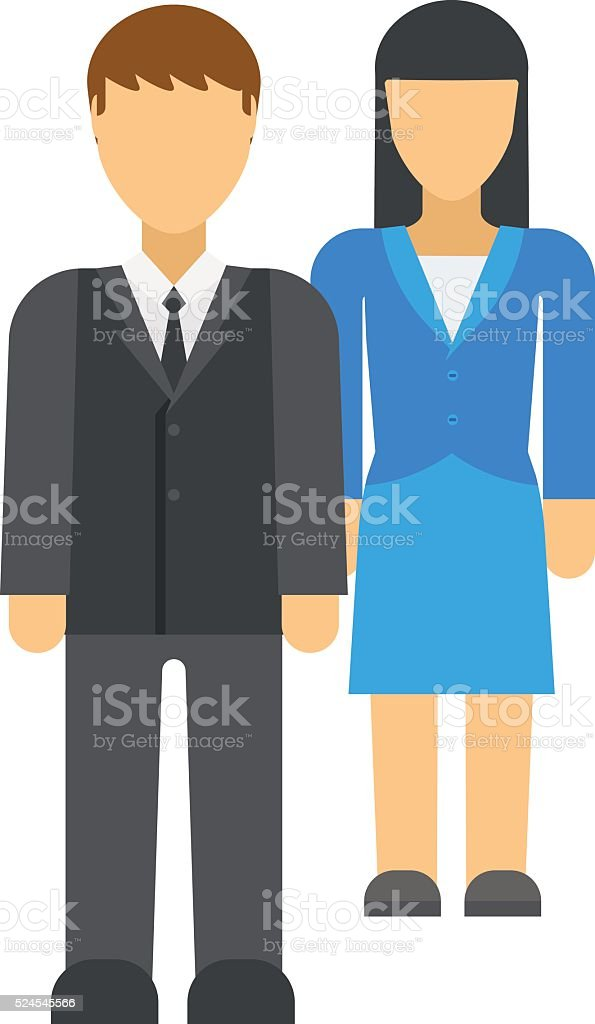 Workplace business discrimination issues vector illustration vector art illustration