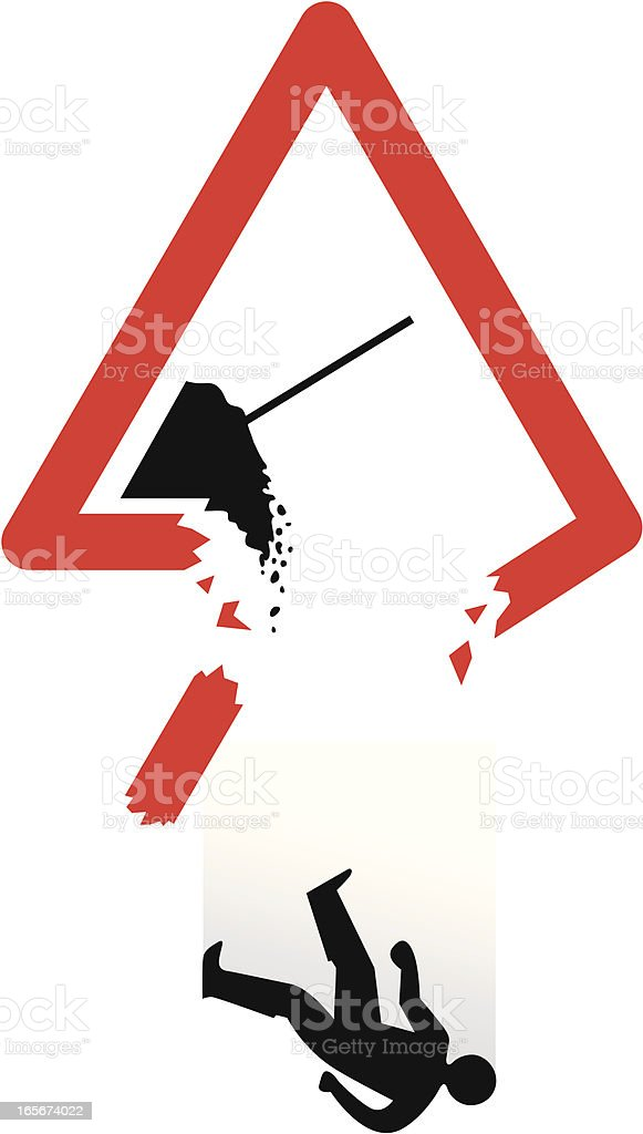 Workplace safety royalty-free stock vector art