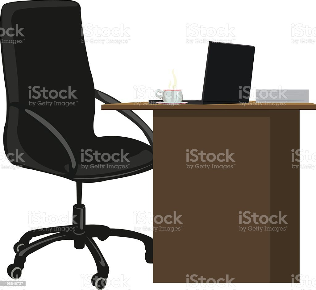 workplace royalty-free stock vector art
