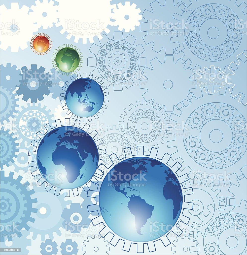 World Background royalty-free stock vector art