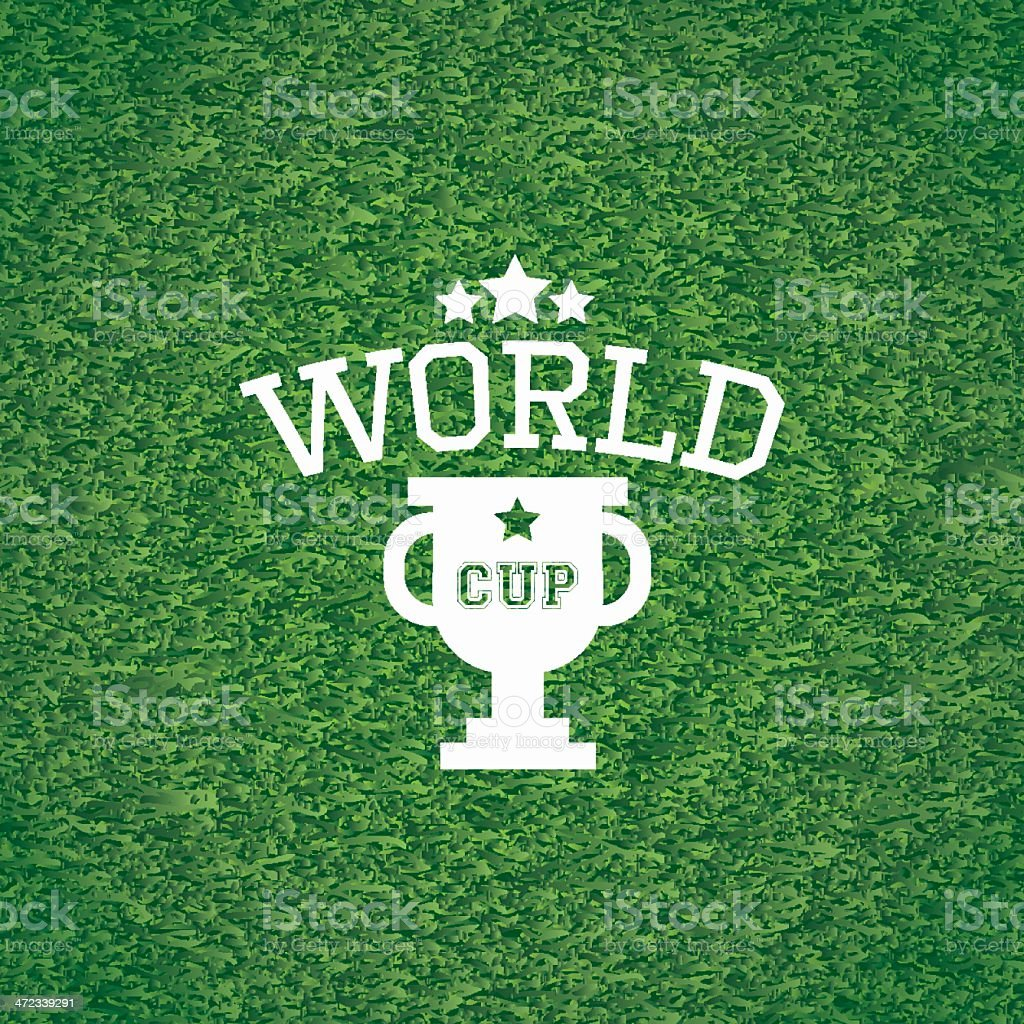 World cup royalty-free stock vector art