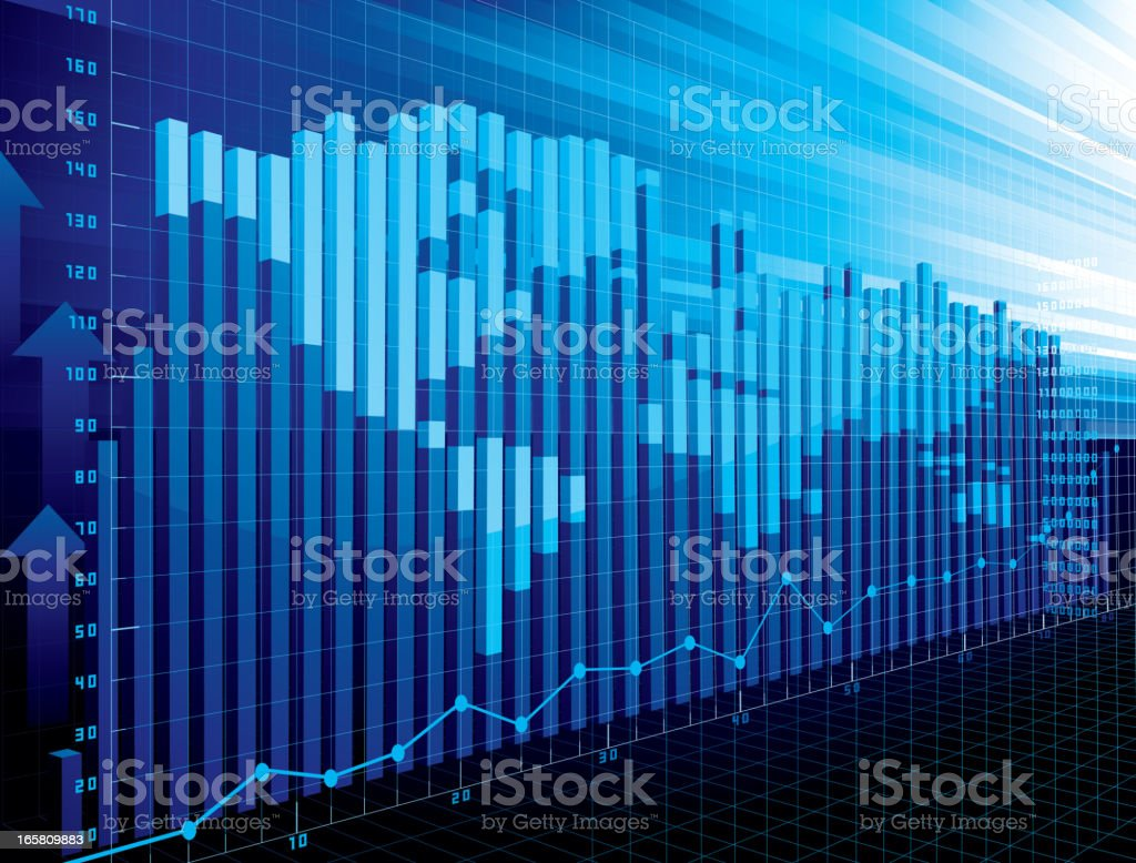 World finance concept royalty-free stock vector art