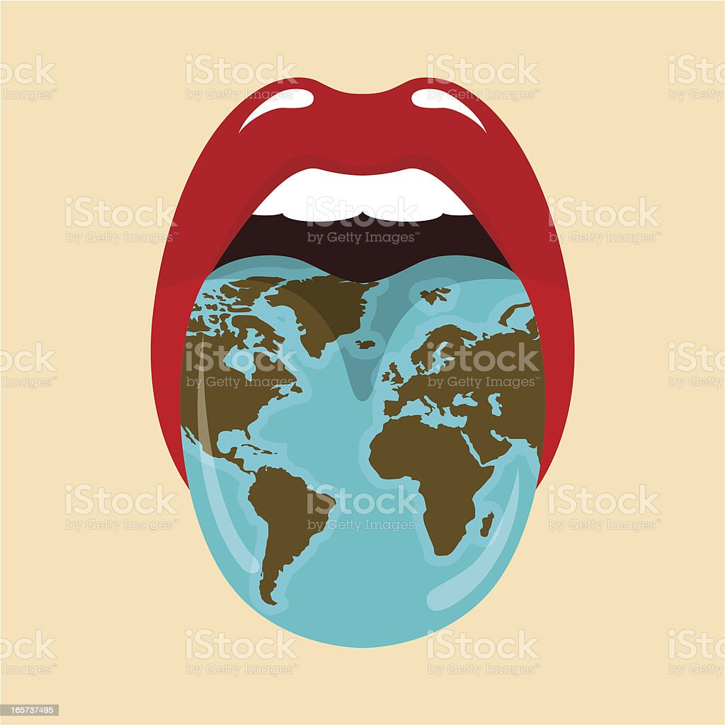 World languages,enviroment, global warming royalty-free stock vector art