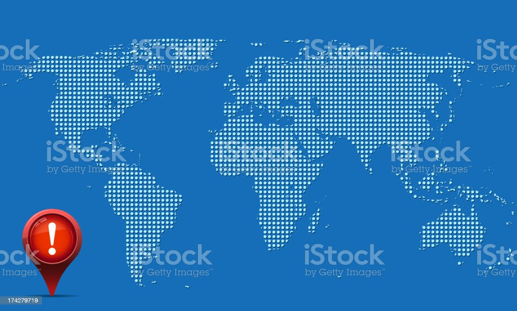 world map design royalty-free stock vector art