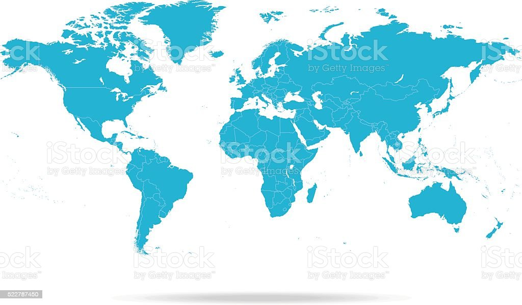 World Map royalty-free stock vector art