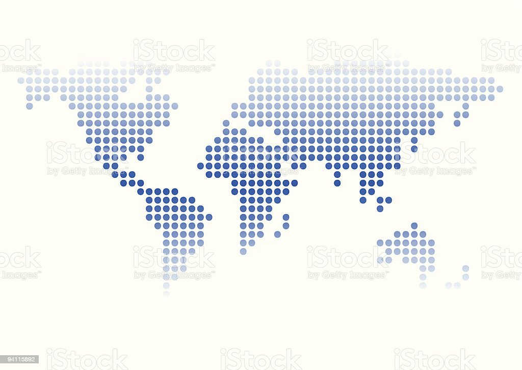 world map royalty-free stock vector art