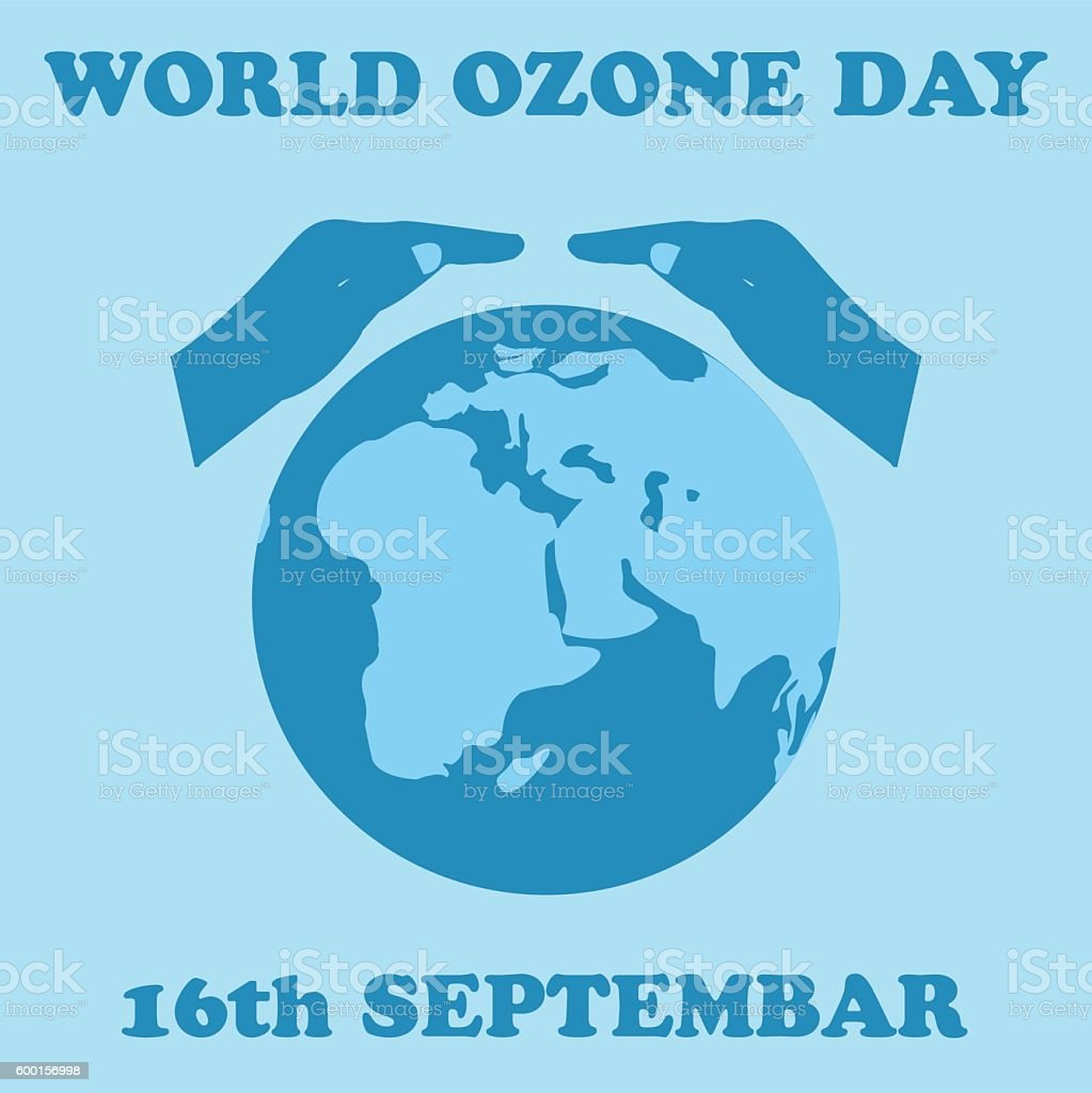 World Ozone Day. vector art illustration