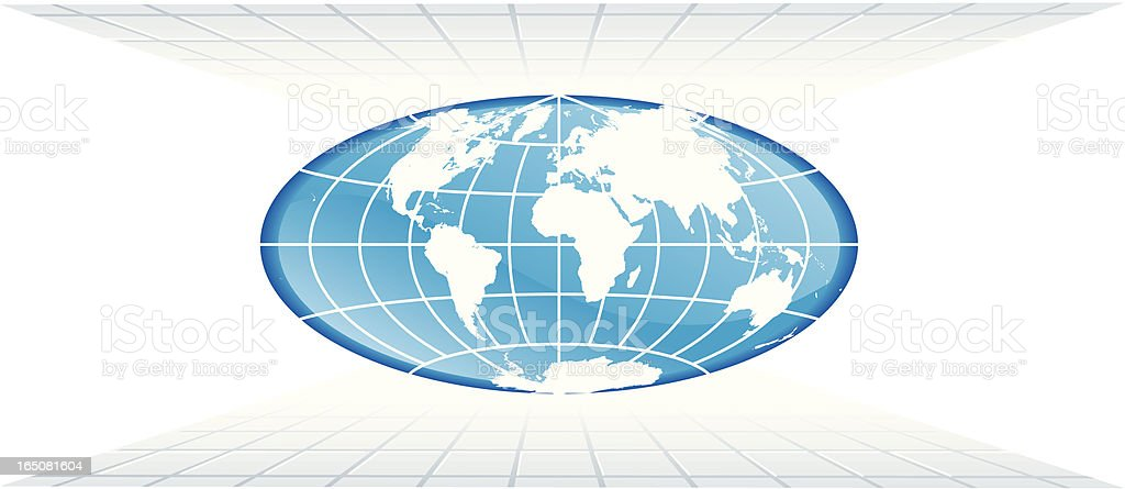 world perspective royalty-free stock vector art