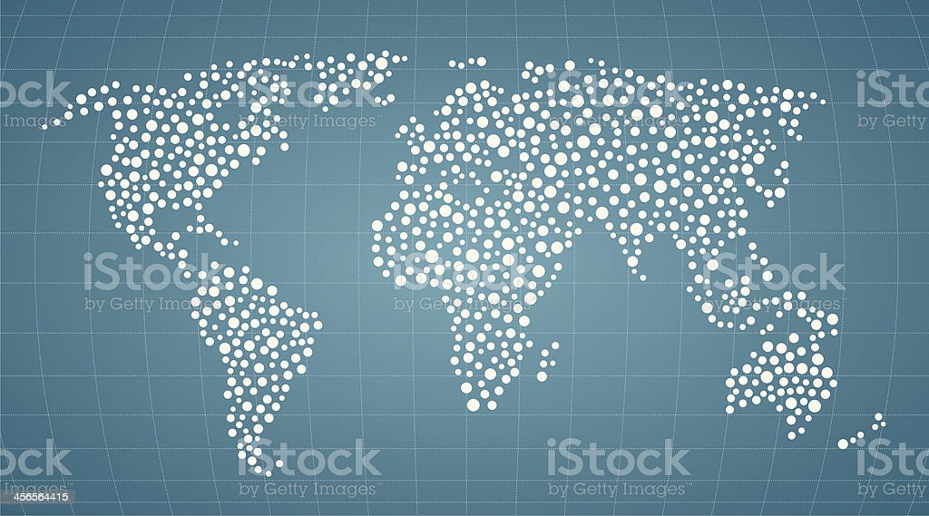 World vector art illustration