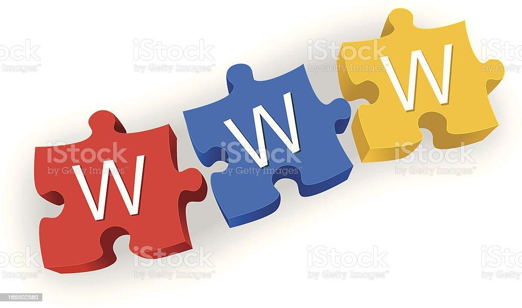 world wide web royalty-free stock vector art