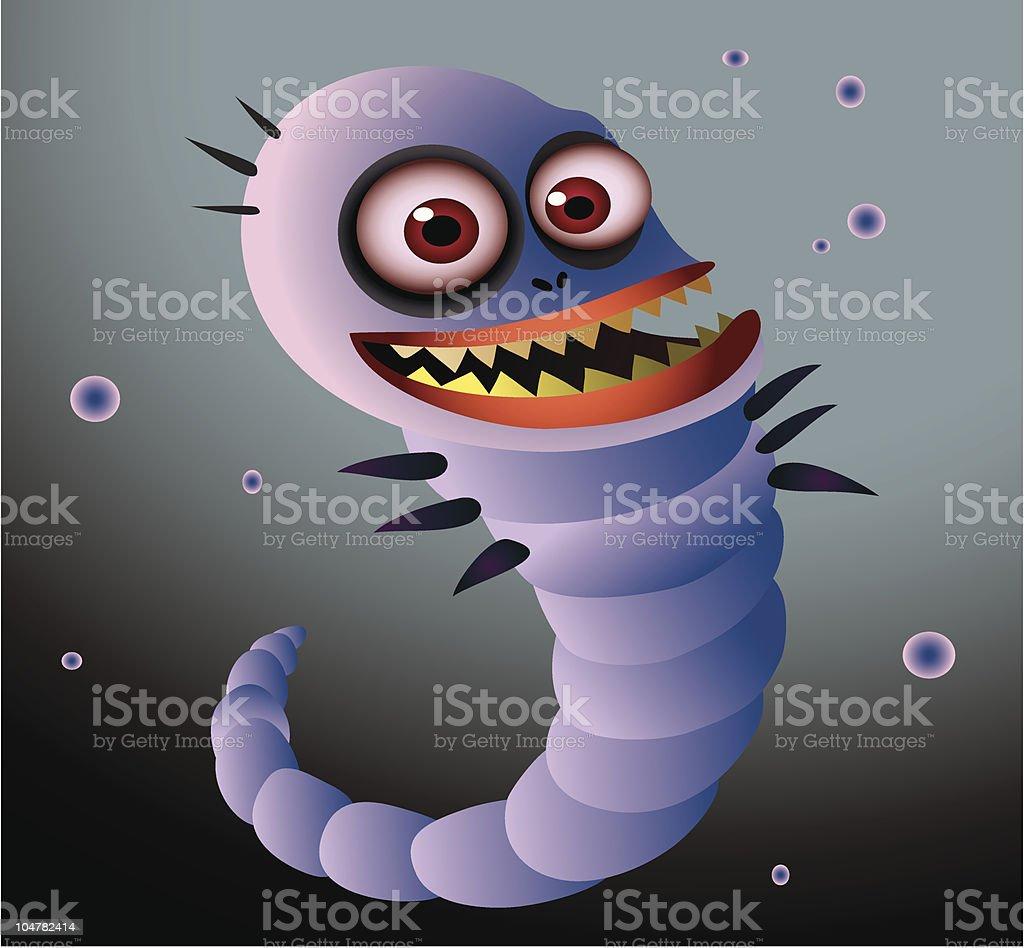 worm royalty-free stock vector art