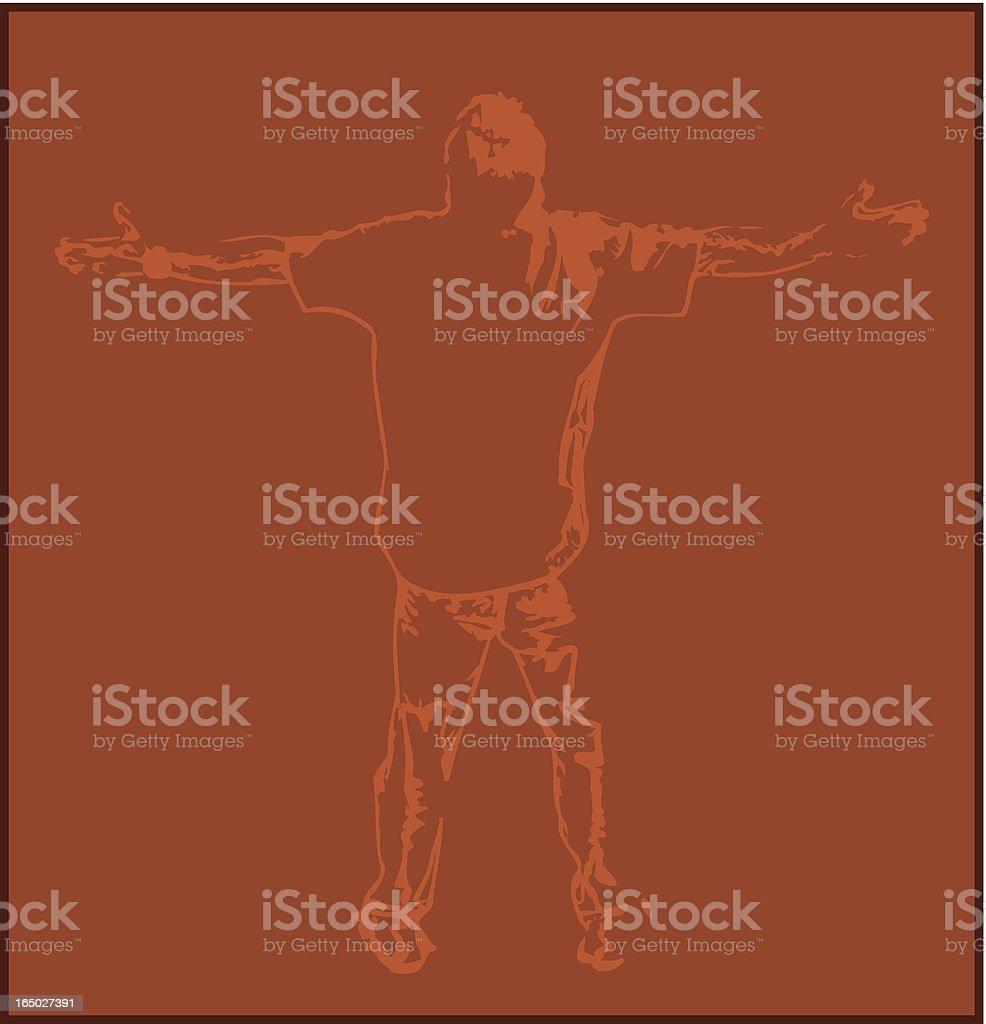 Worship royalty-free stock vector art