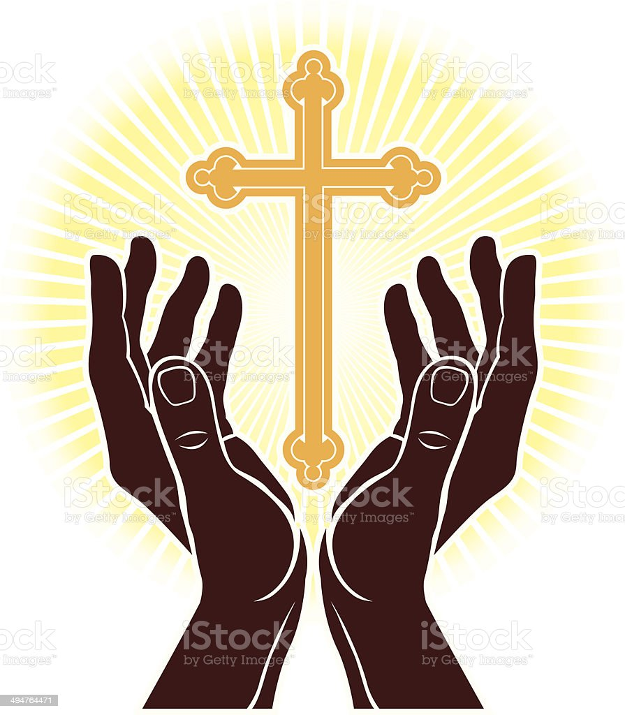 Worship royalty-free stock vector art