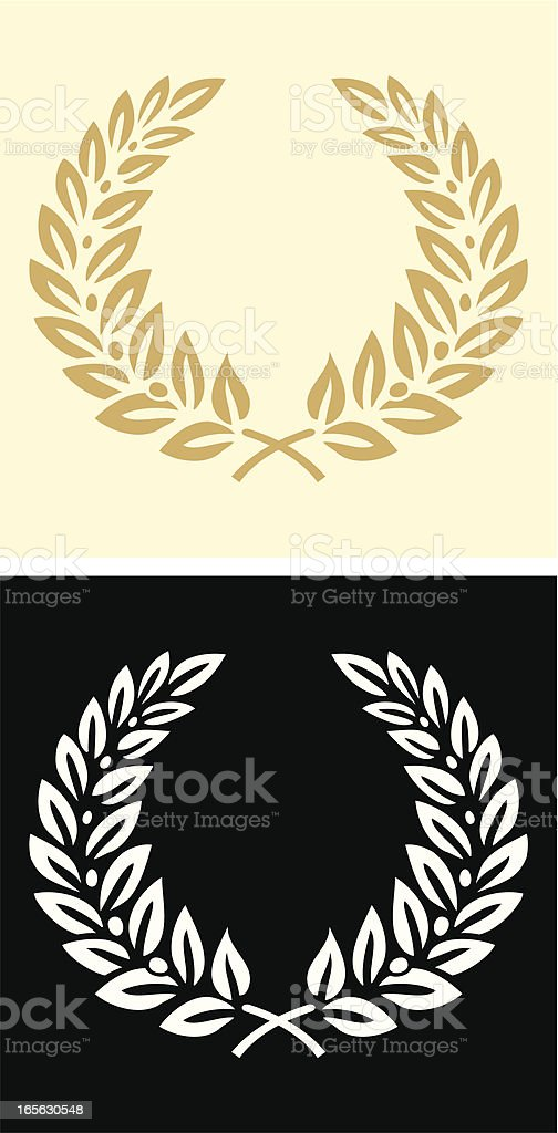 Wreath vector art illustration
