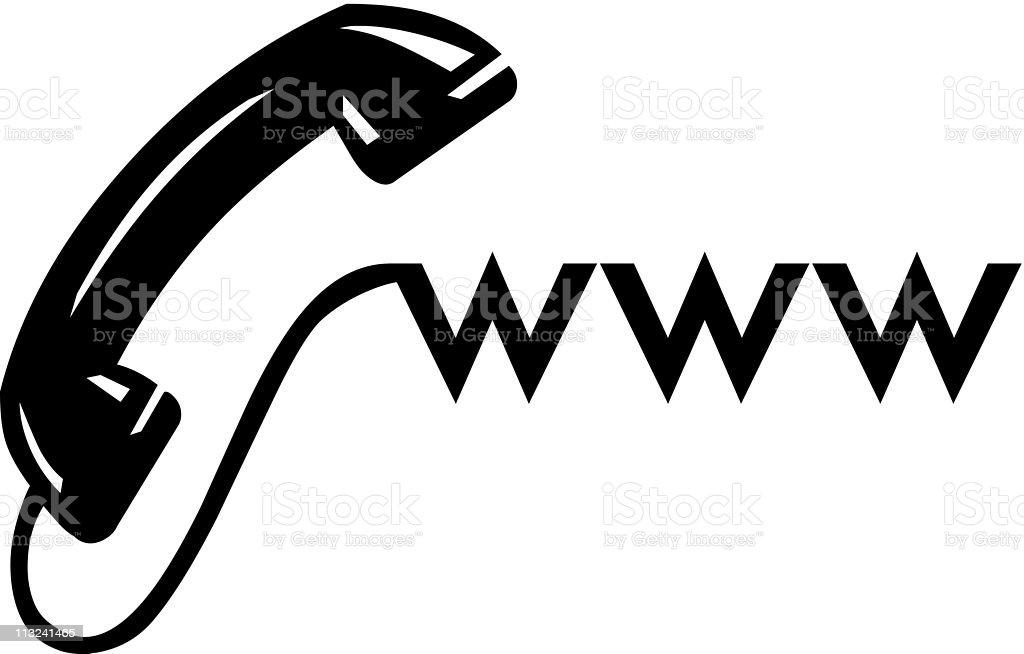 www symbol royalty-free stock vector art
