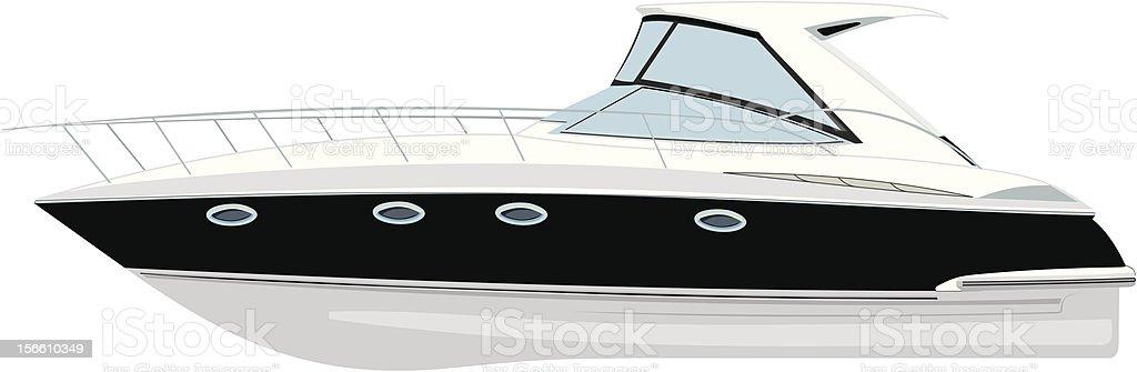 yacht vector illustration vector art illustration