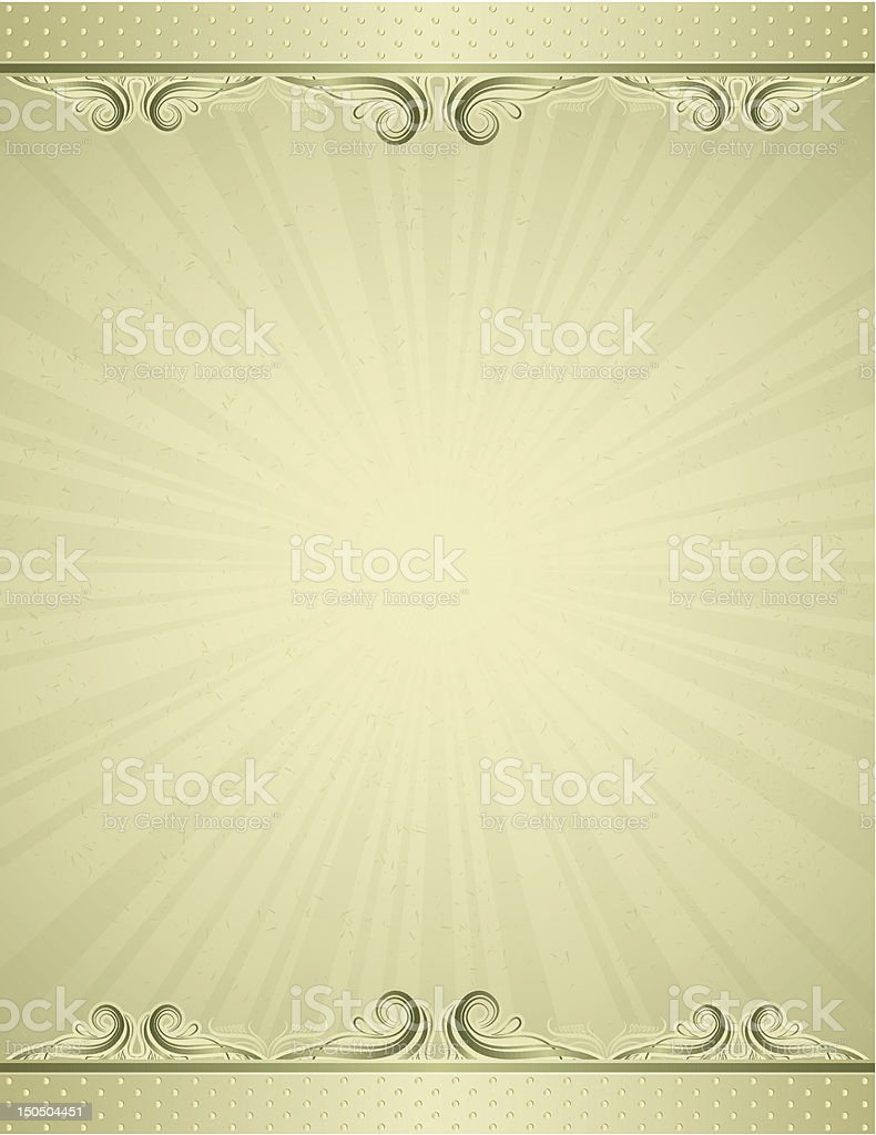 yellow antique background royalty-free stock vector art