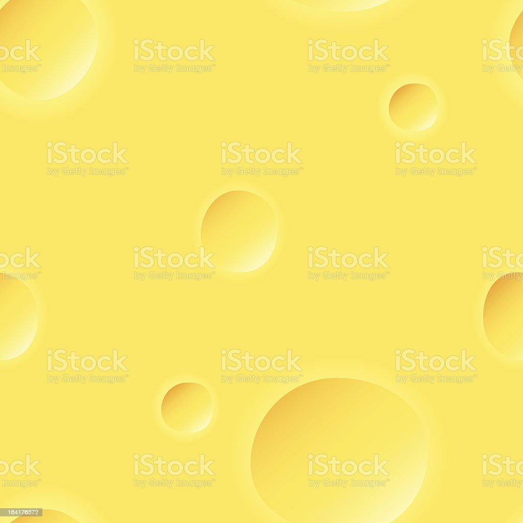 Yellow cheese seamless background pattern royalty-free stock vector art