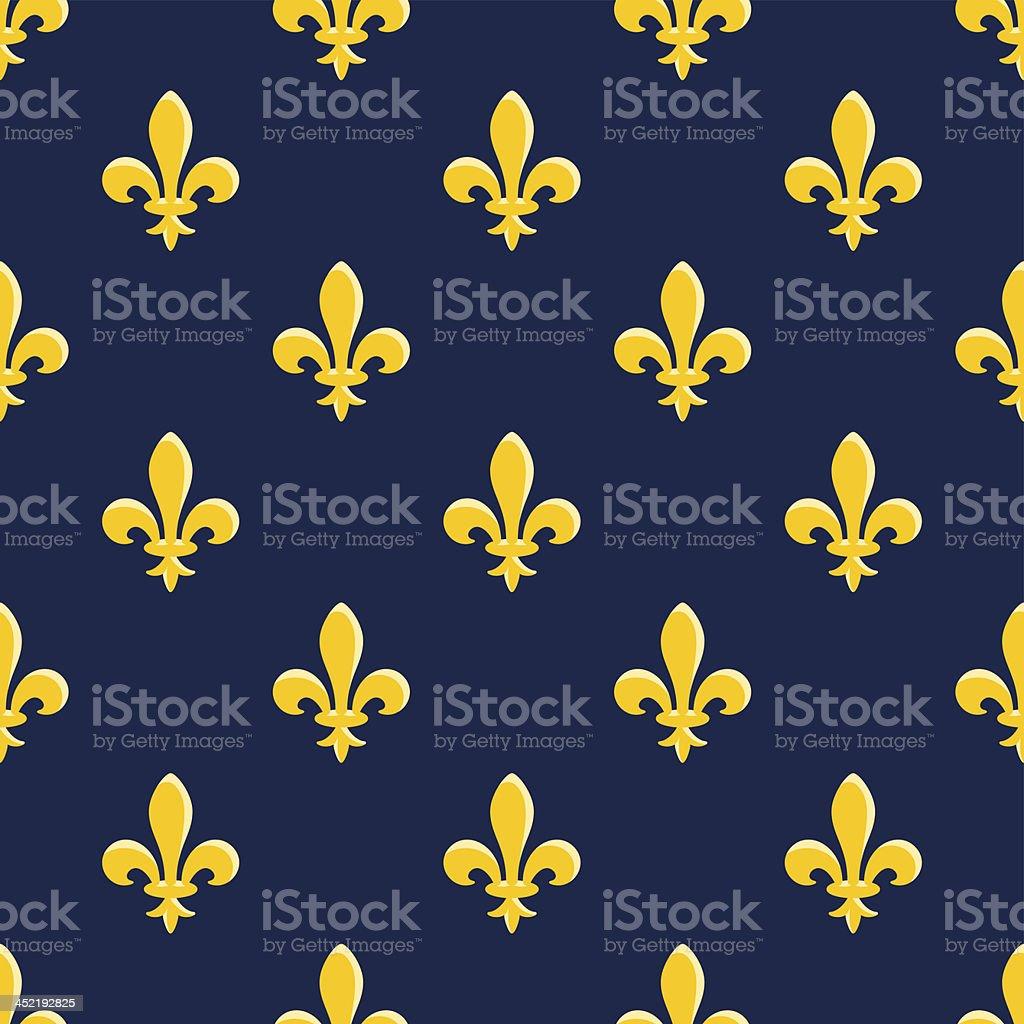 Yellow Emblem Pattern royalty-free stock vector art