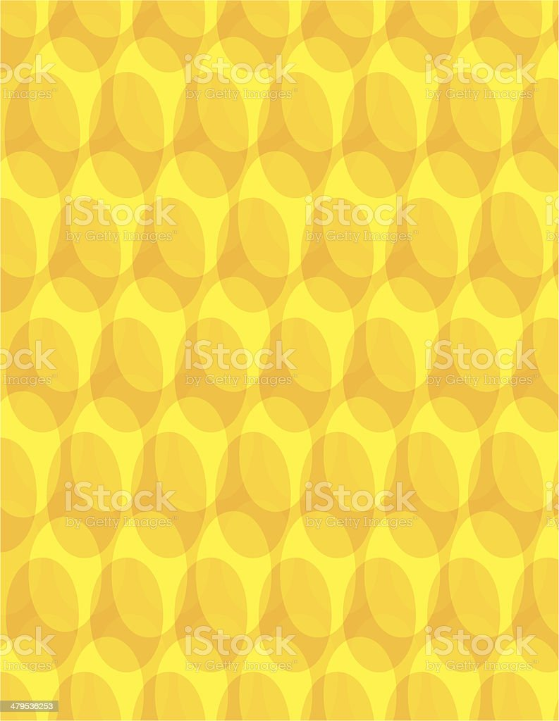 Yellow Grating Background royalty-free stock vector art