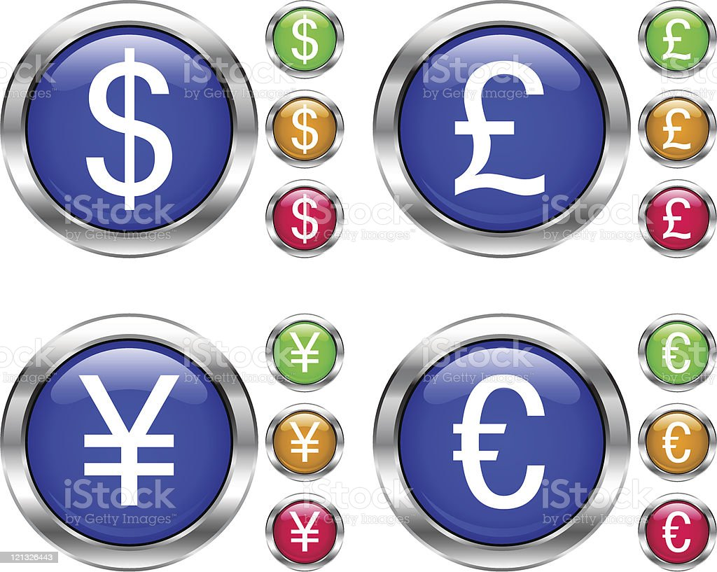 yen sign royalty-free stock vector art
