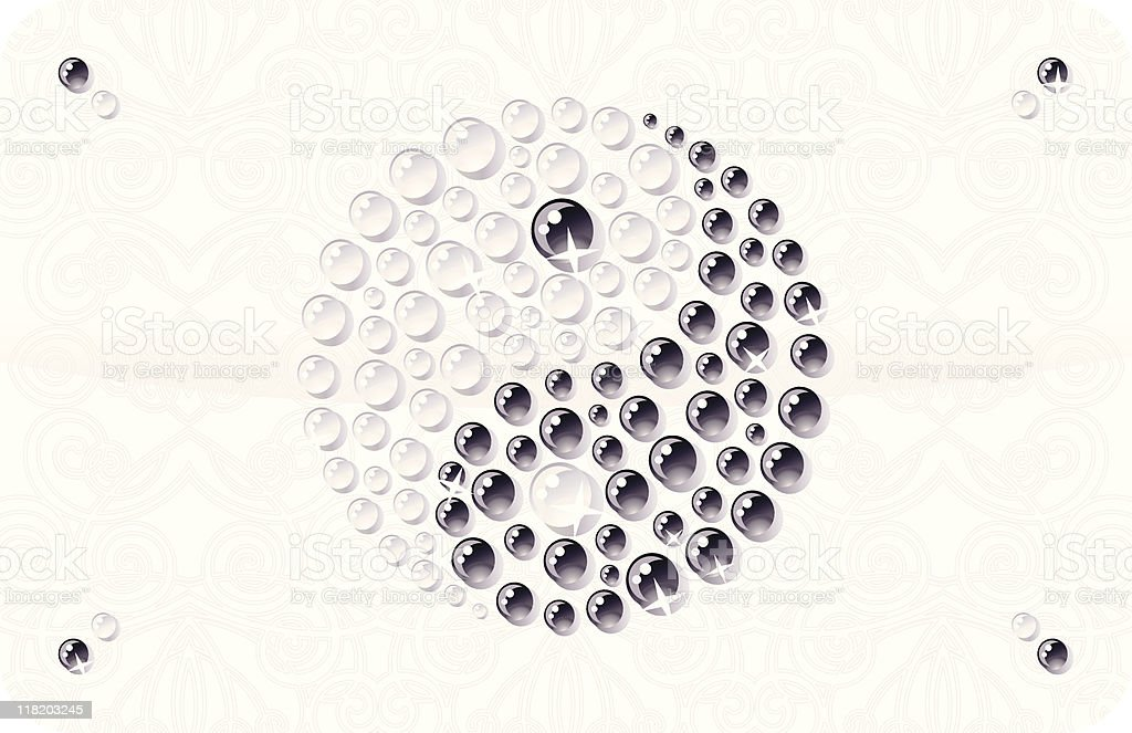 Yin Yang Symbol royalty-free stock vector art