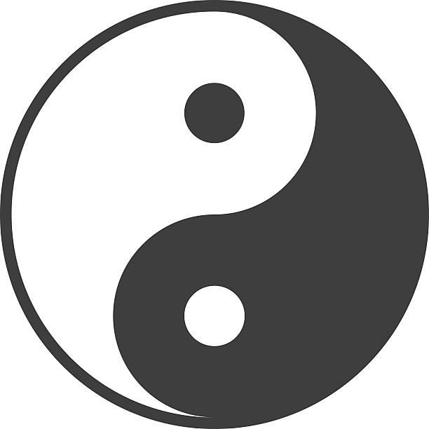 Karma Yin Yang Symbol Balance Taoism Clip Art, Vector Images ...