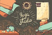 Yoga Studio Sketch