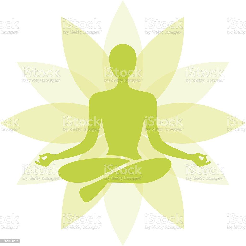 Yoga Symbol stock vector art 465344227 | iStock