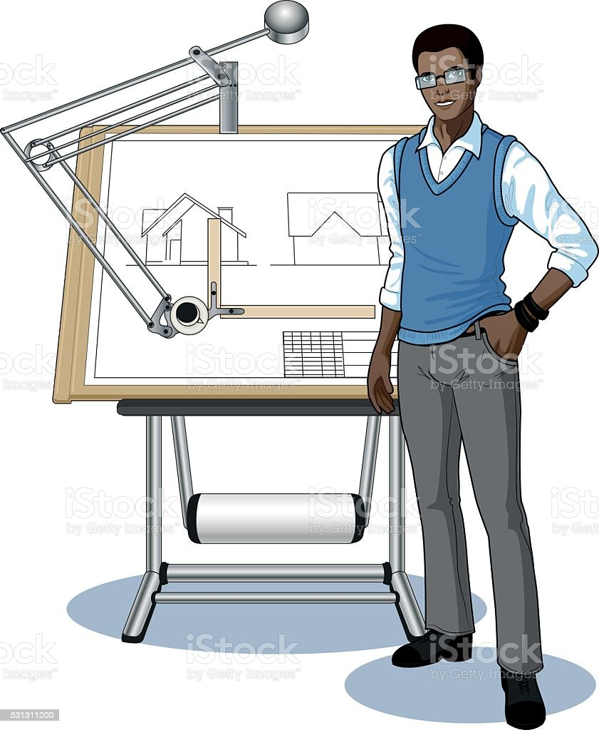 Architect Student architect student clip art, vector images & illustrations - istock