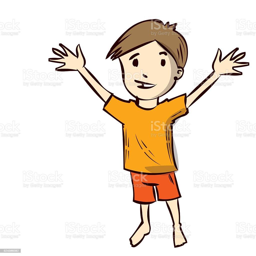 Как нарисовать мальчика своими руками