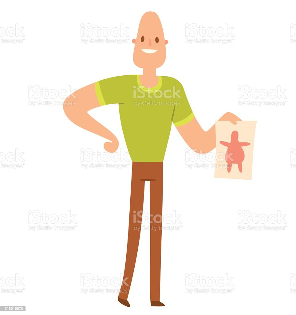Young skinny people with package not recommended fast food vector art illustration