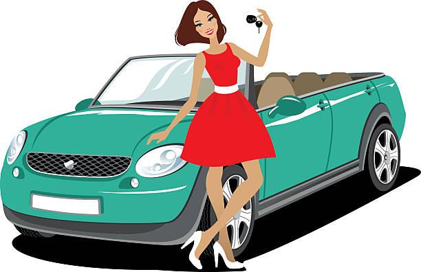 New Car Clip Art, Vector Images & Illustrations - iStock