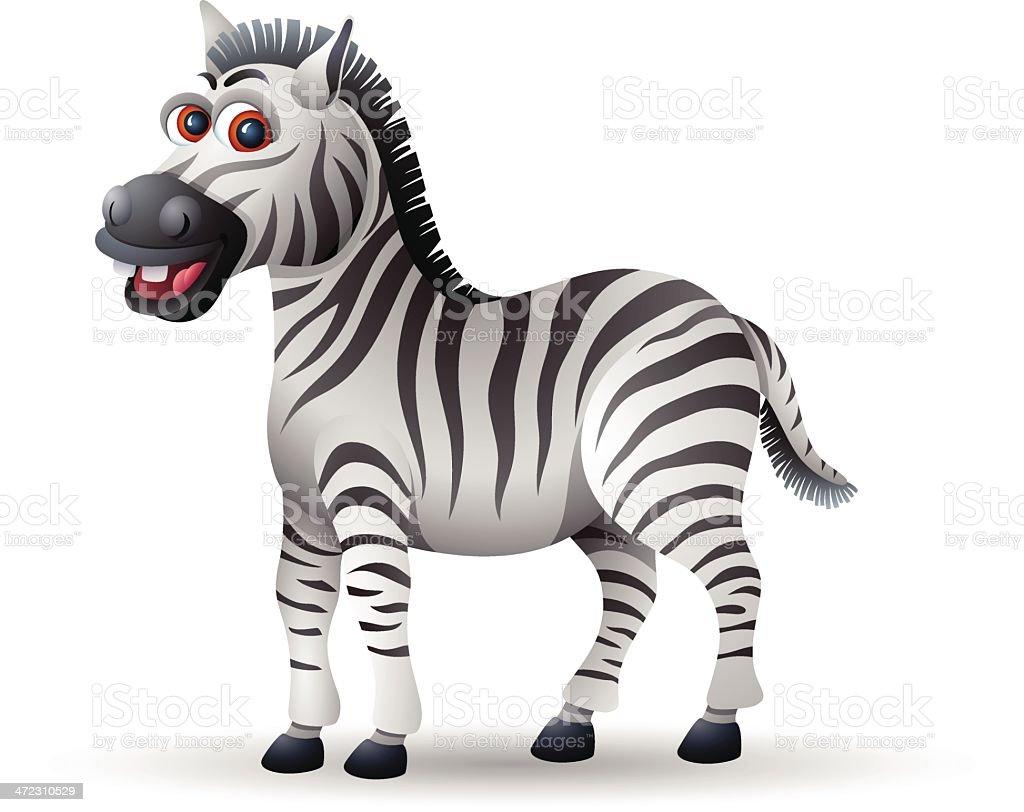 Zebra Character royalty-free stock vector art