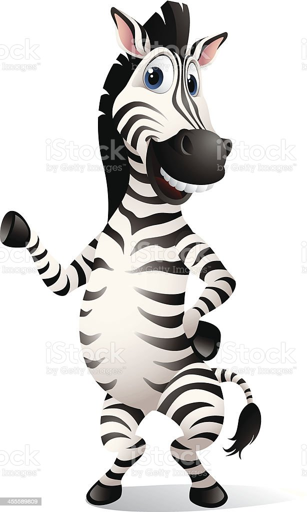 Zebra royalty-free stock vector art