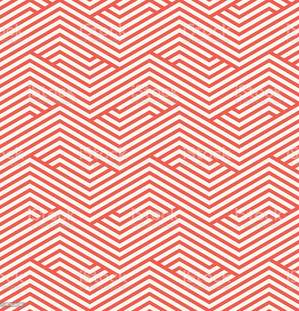 zigzag pattern vector art illustration